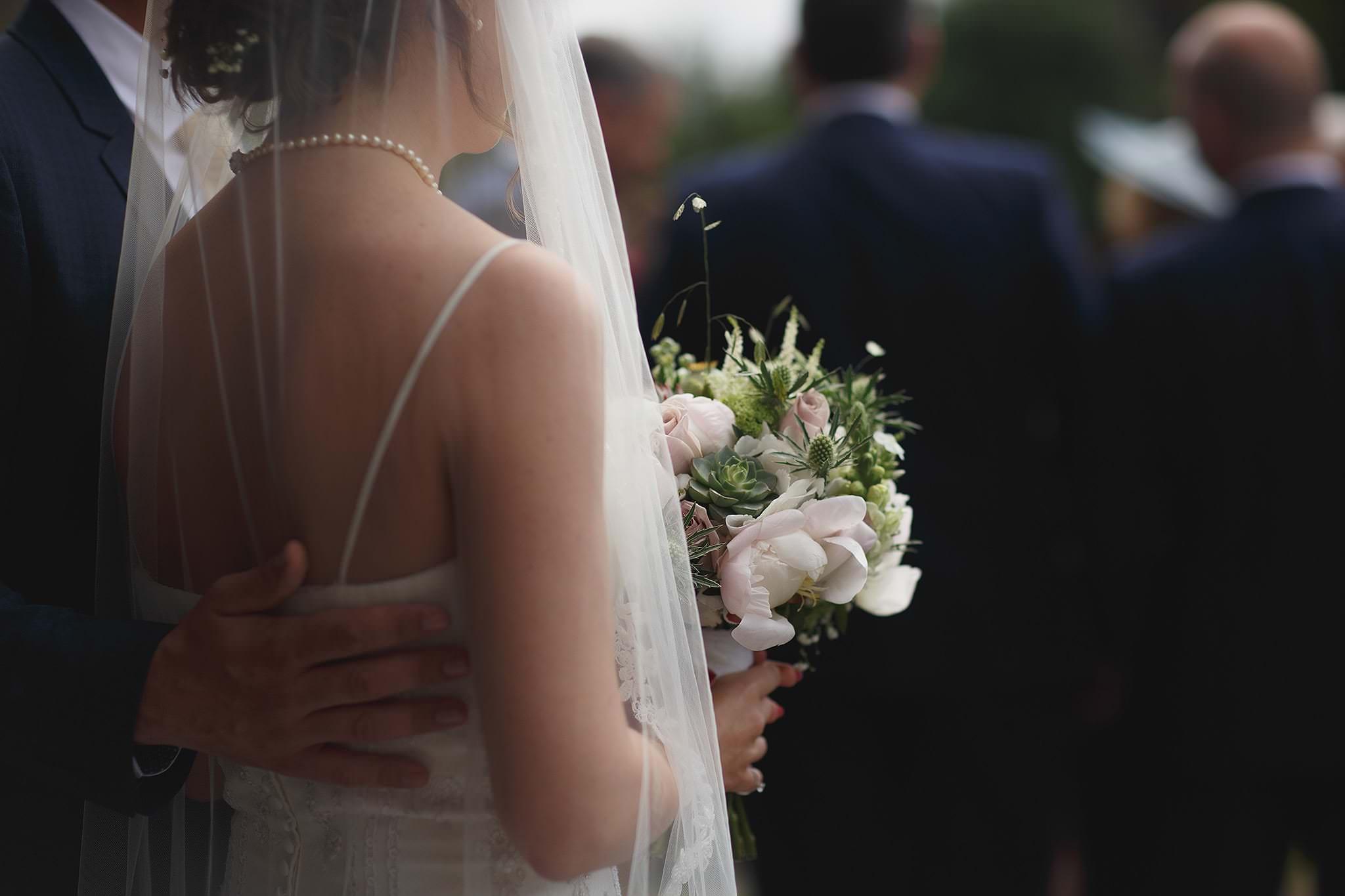 Documentary wedding photographer Toni Darcy.