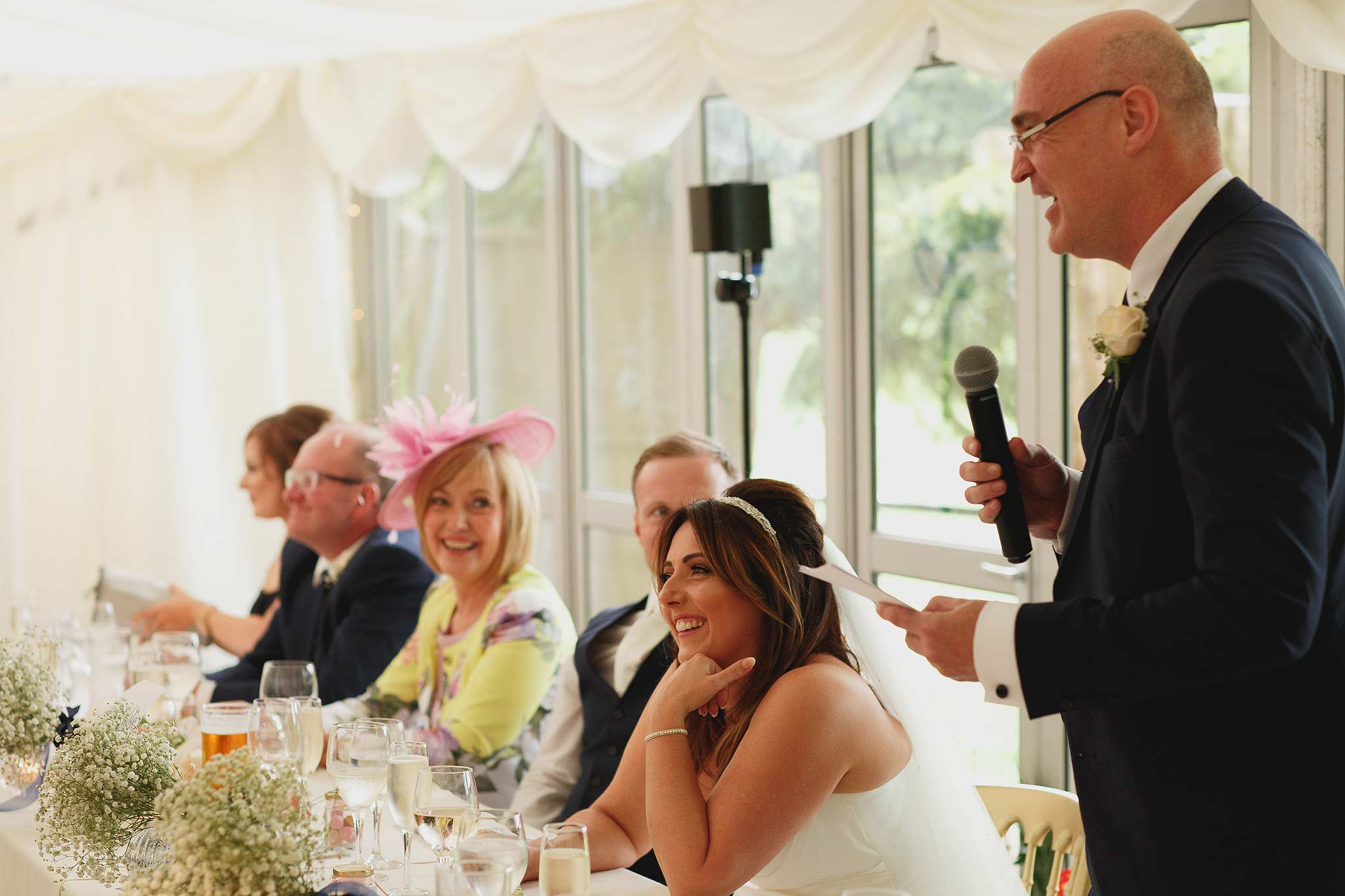 wedding speeches at the inn at whitewell