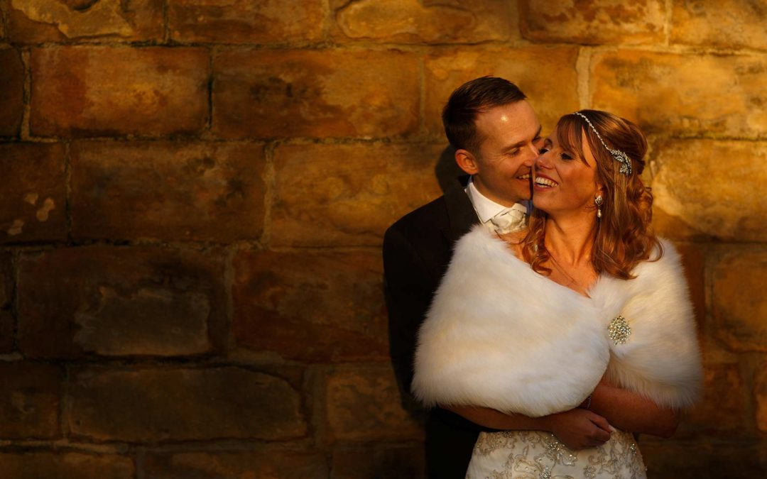Winter Wedding at Samlesbury Hall