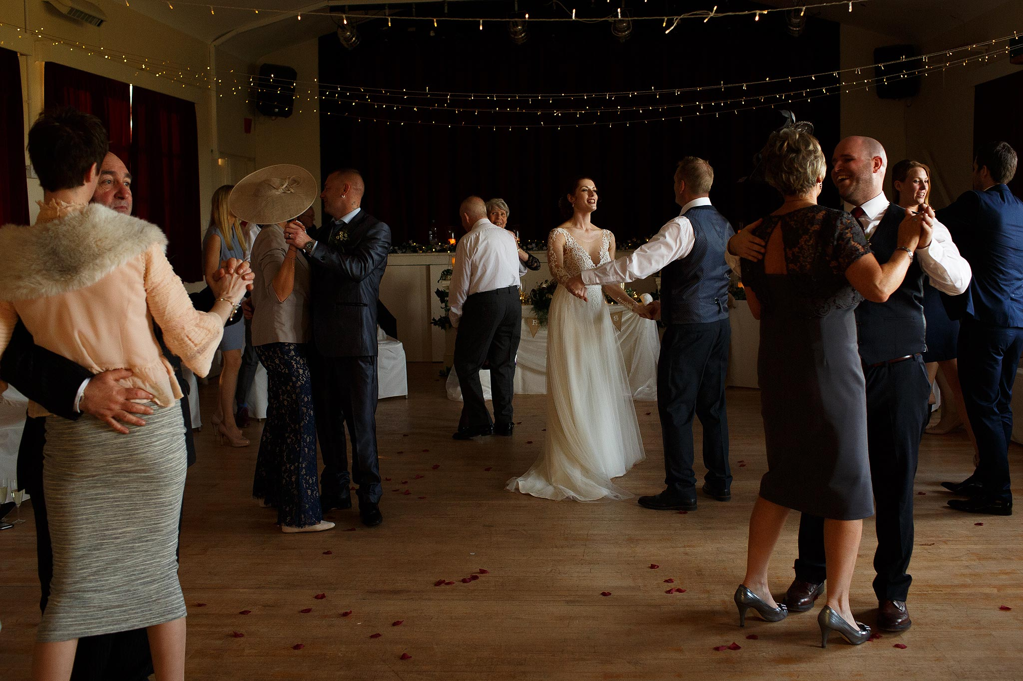 Father and dauhgter dance at Downham Village Hall wedding