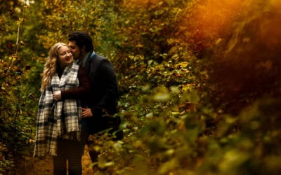 Autumn Engagement Shoot