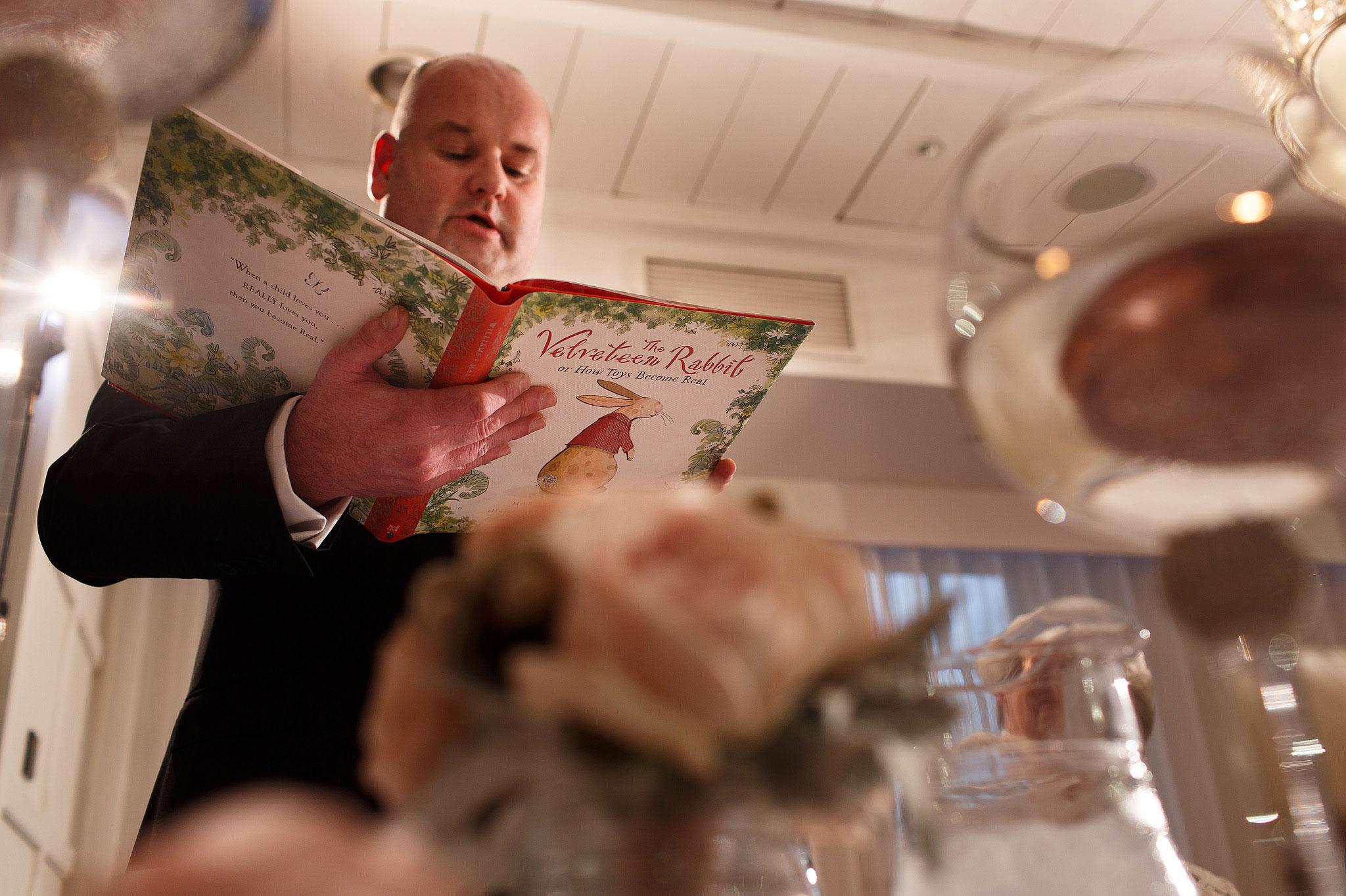 Best man speech at Stanley House Hotel wedding reception