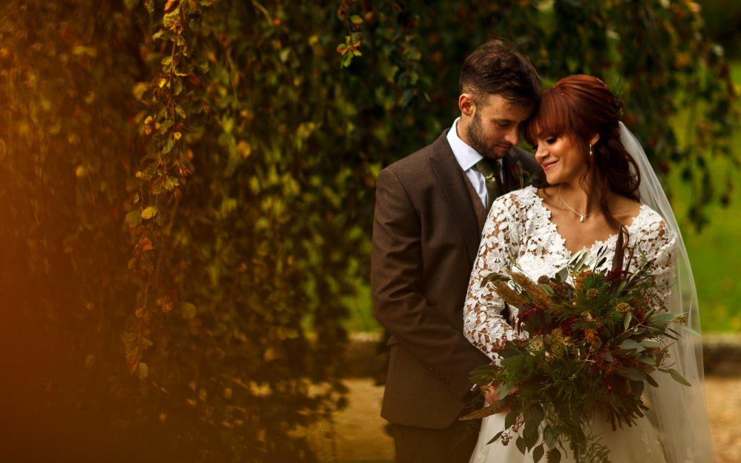 Autumn Browsholme Hall Wedding Photographs