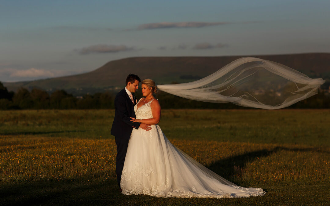 Summer wedding at The Out Barn Clough Bottom